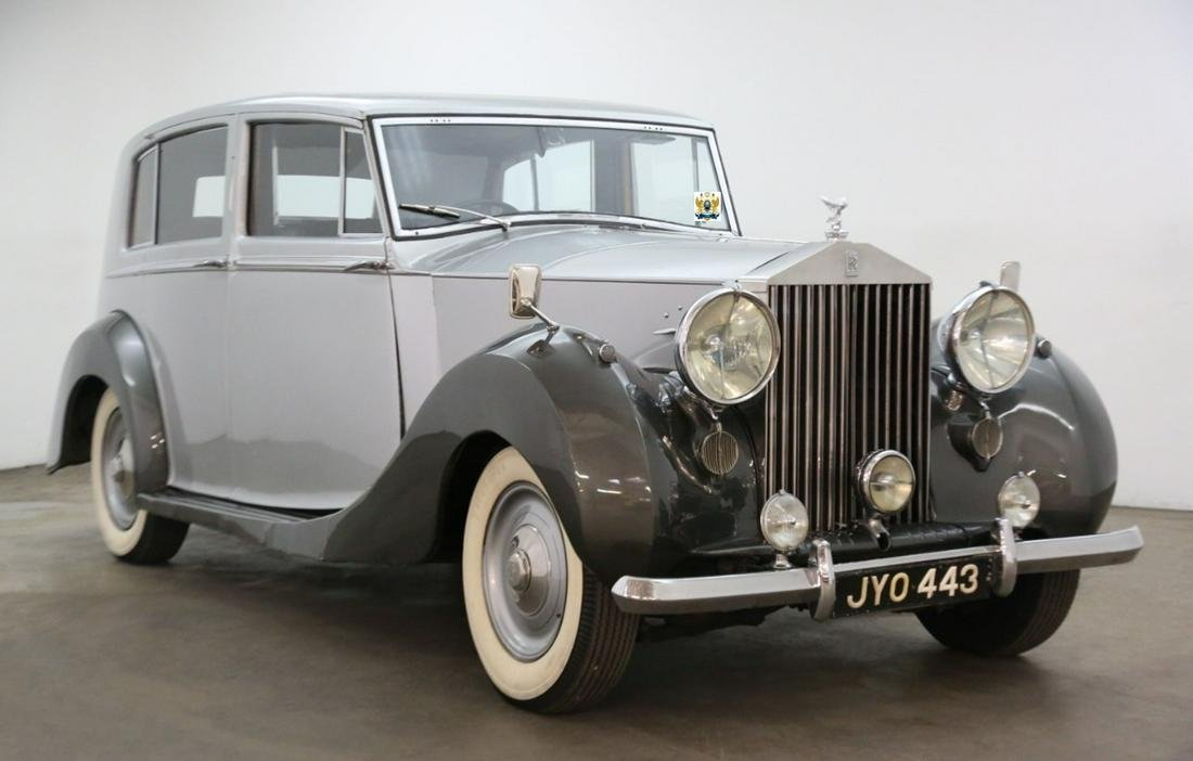 Rolls Royce Silver Wraith Limousine Right Hand Drive