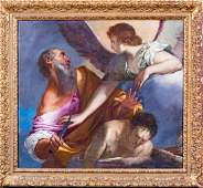 17th Century Italian Old Master Isaac Abraham & The