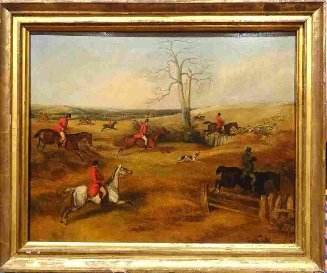 Fox Hunt Landscape