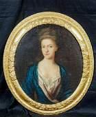 Mrs. Sanderson Oil Painting