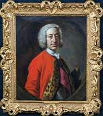 British Military Field Marshal Oil Painting