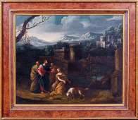 Old Master Landscape Oil Painting