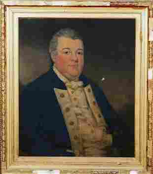 Anthony Jepson of Durham (1749-1807) Oil Painting