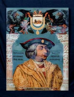 Portrait of Maximilian I Holy Roman Emperor Archduke of