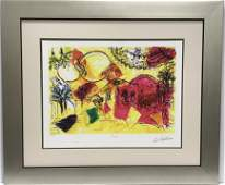 After Marc Chagall (1887-1985 French) Lithograph