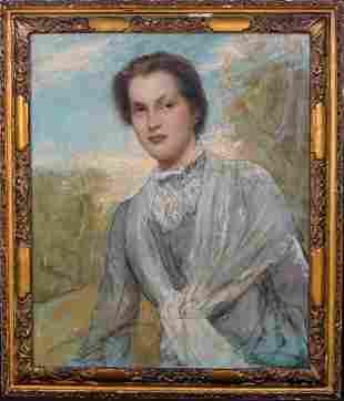 Portrait Of Francis Wait Oil Painting