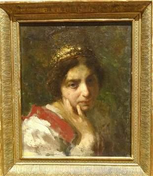Portrait Of The Countess De La Rocca Oil Painting