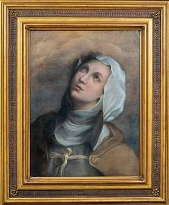 Portrait Of Michelina Of Pesaro Oil Painting