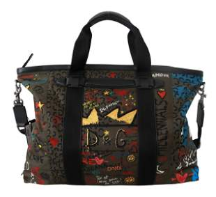 Brown #family Love Sicily Shoulder Handbag Nylon Bag
