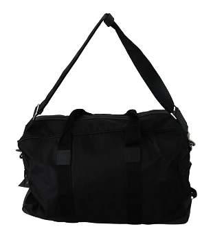 Black Shoulder Sling Travel Luggage Borse Nylon Bag