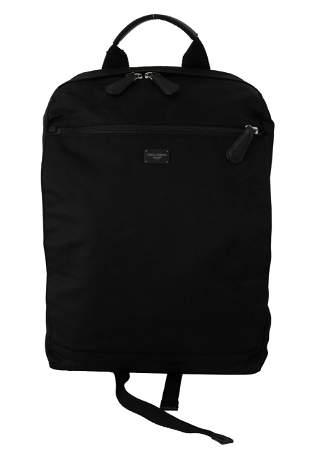 Black School Travel Backpack Men's Borse Nylon Bag