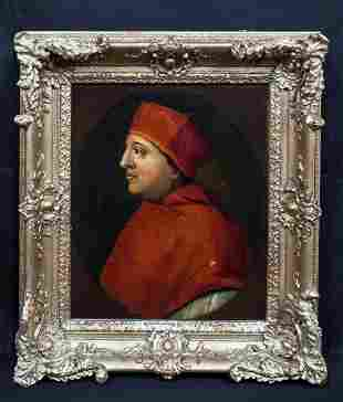Portrait of Cardinal Thomas Wolsley (1473-1530) Oil