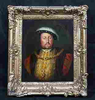 Portrait Of King Henry VII (1491-1447) Oil Painting