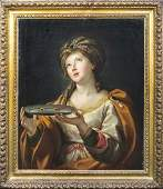 St Lucy Martyr Oil Painting