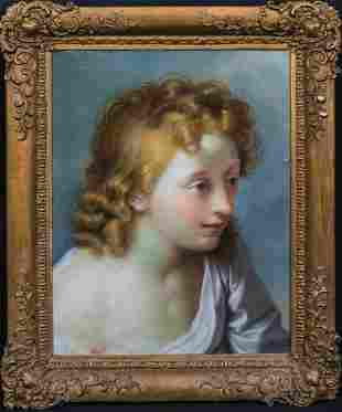 Portrait Of A Boy Benedetto Luti (1644-1724) Oil