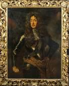 Portrait Of King James II Oil Painting