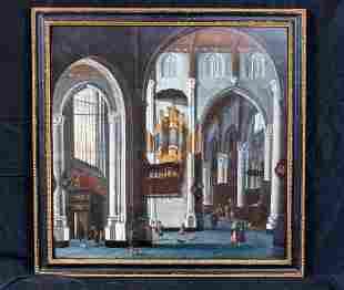 Rotterdam Interior Oil Painting