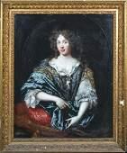 Lady Portrait Oil Painting