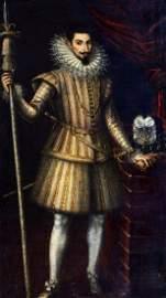 Portrait King Phillip II Of Spain Oil Painting