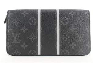 Louis Vuitton Fragment Black Monogram Eclipse Zippy