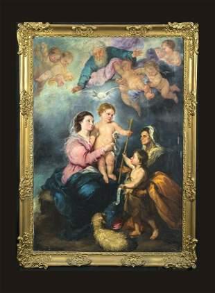 The Virgin Of Seville Oil Painting
