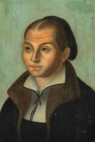 The Wife Of Martin Luther Oil Painting
