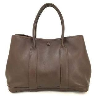 Hermès Garden Party TPM Brown Swift Leather L'air De