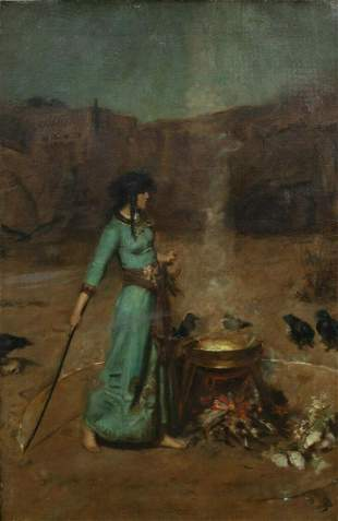 The Magic Circle Oil Painting