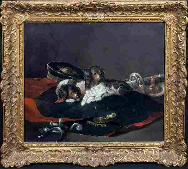 The Hussars Pets King Charles Puppies & Military
