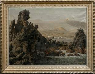 Tenerife Beach Landscape Oil Painting