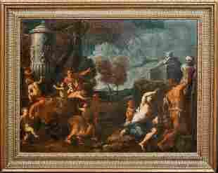 Bacchanalia Satyr Oil Painting