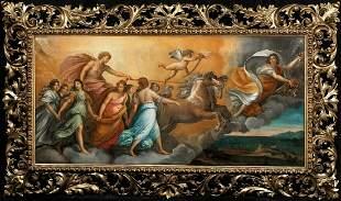 Apollo & Aurora Greek Mythology Oil Painting