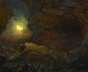 Sleep Of Endymion Oil Painting