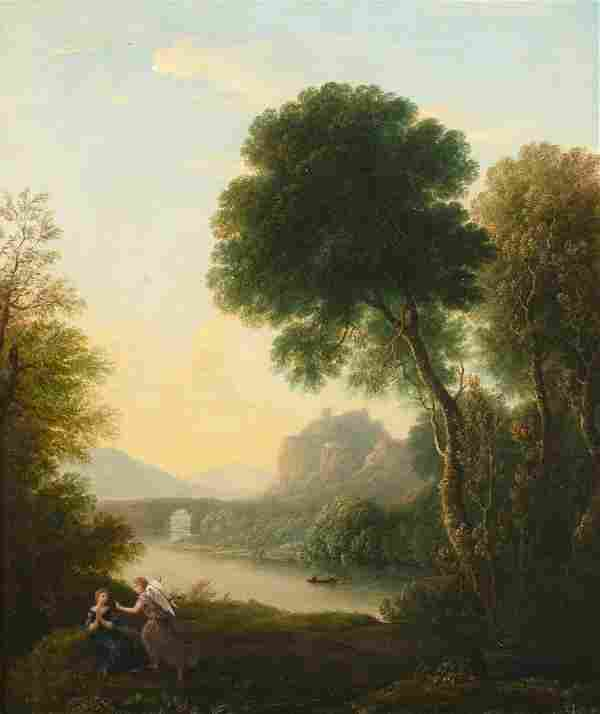 The Annunciation Landscape Oil Painting