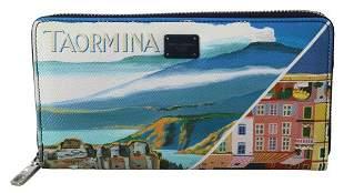 Multicolor Taormina Dauphine Leather Continental Clutch