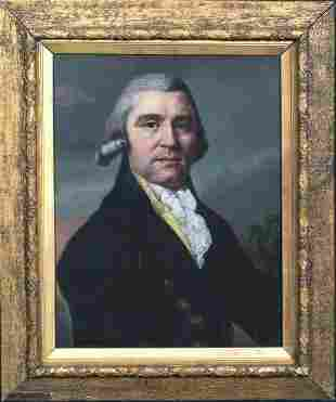 Portrait Of A Gentleman Samuel Adams (1722-1803) Oil