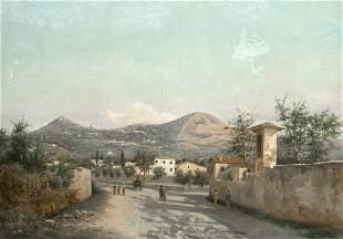 Landscape San Nicolo Oil Painting