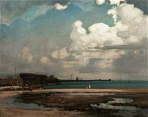Landscape Of Brittany Oil Painting