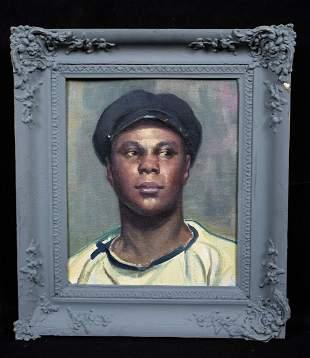 Portrait Of A Black Sailor Oil Painting
