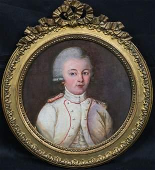 Portrait Of King Leopold II, Holy Roman Emperor Oil