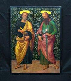Saint Peter & Paul Oil Painting