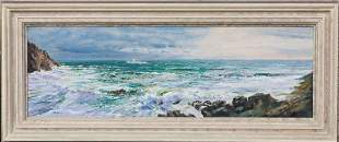 Scilly Isles Seascape Oil Painting