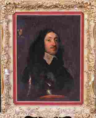 Portrait Of Earl Of Pembroke Philip Herbert Oil
