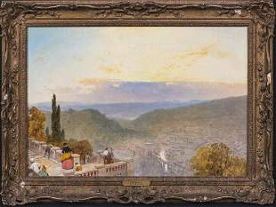 View Of Florence Italy Oil Painting