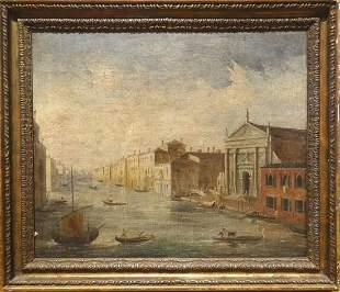 Venice Canal Oil Painting