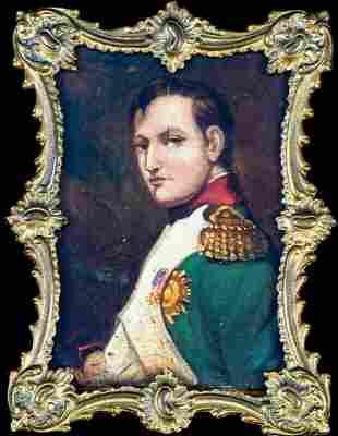 Portrait of Napoleon Bonaparte (1769-1821) Oil Painting