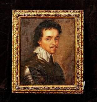 Portrait Thomas Wentworth, 1st Earl of Stafford Oil