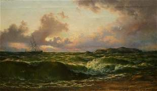 After The Storm, Isle Of Arran Oil Painting