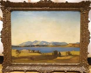 Limsore & Mull Landscape Oil Painting