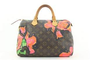 Louis Vuitton Stephen Sprouse Graffiti Roses Speedy 30